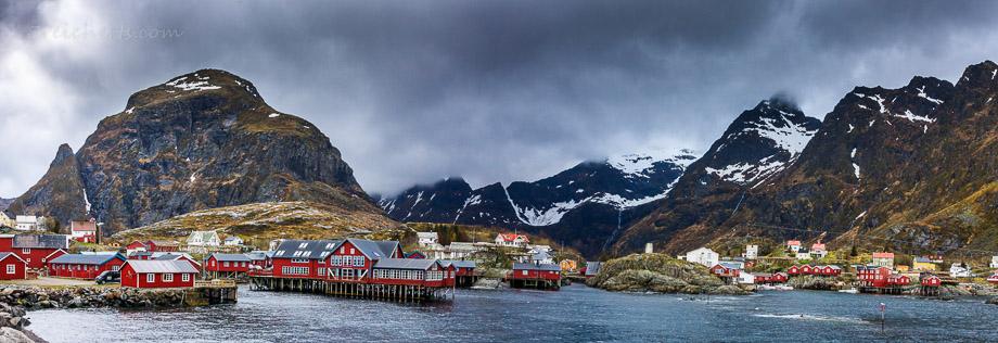 Das Fischerdorf mit dem kurzen Namen, Å in Norwegen