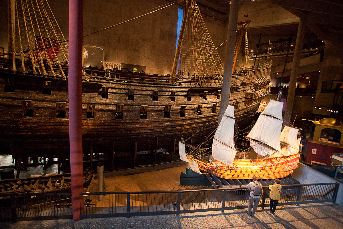 Im Vasa Museum, Stockholm, Schweden