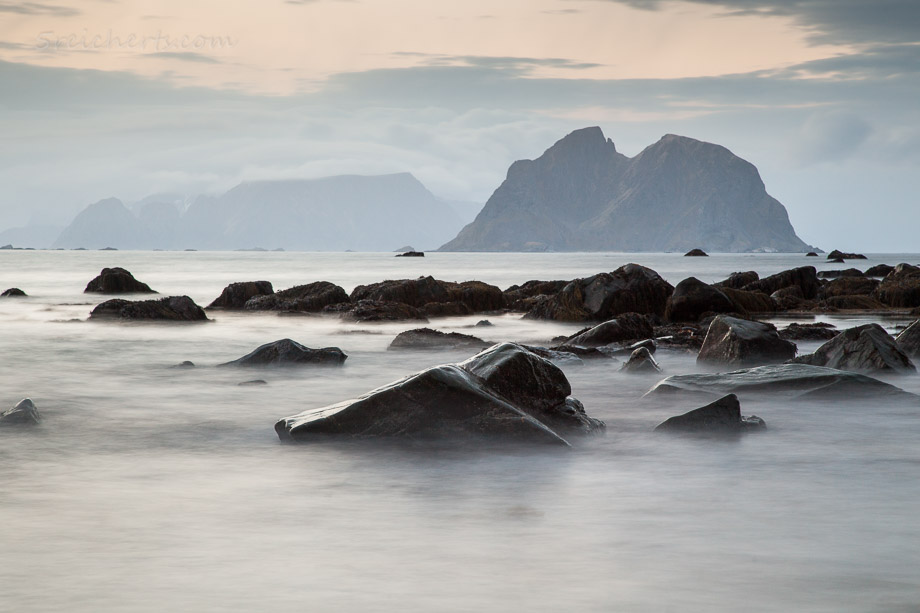 Im Norden von Vaeroy, Norwegen