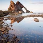 Fiddle-Bow Rock, Moray Shire, Schottland