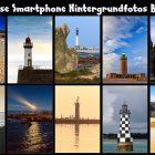 10 bretonische Leuchttürme für's Smartphone