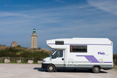 Womo am Cap Frehel, Bretagne