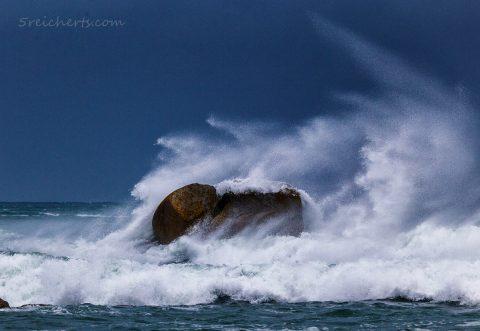 Sturm in Cleder, Bretagne
