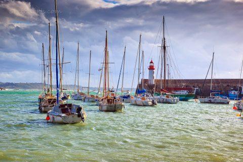 Erquy, Hafen, Bretagne