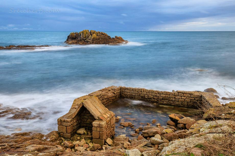 Langzeitbelichtung in Lesconil, Bretagne