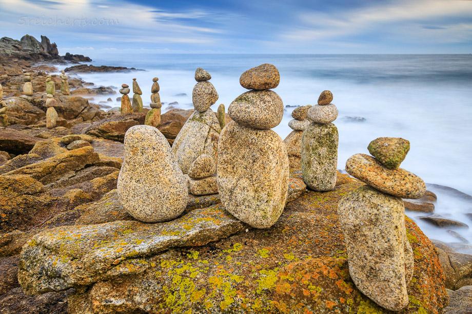 Steinfiguren, Lesconil, Bretagne