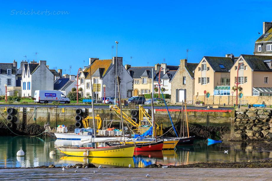 Hafen von Lesconil, Bretagne