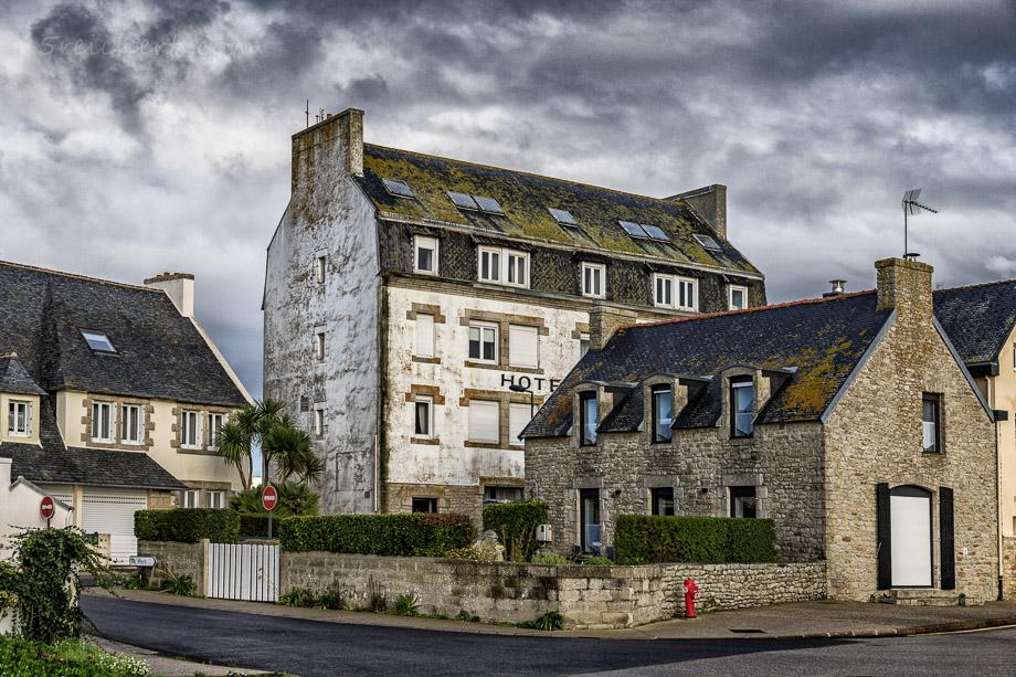 Altes Hotel in Lesconil, Bretagne