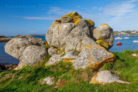 Küste in Porspoder, Bretagne