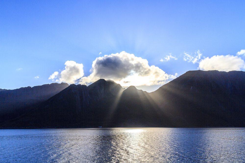 Berge der Lofoten, Norwegen