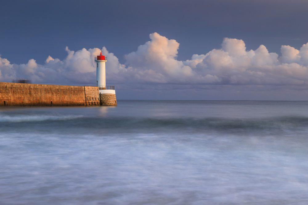 Audierne, Bretagne, Frankreich