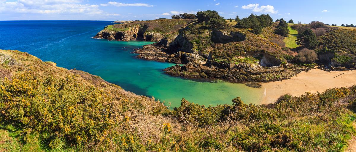 Küste auf der Belle Ile, Bretagne