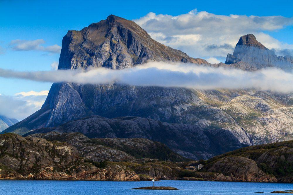 Berge in der Nähe von Bronøysund