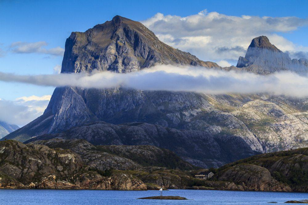 Berge an der RV 17, Norwegen