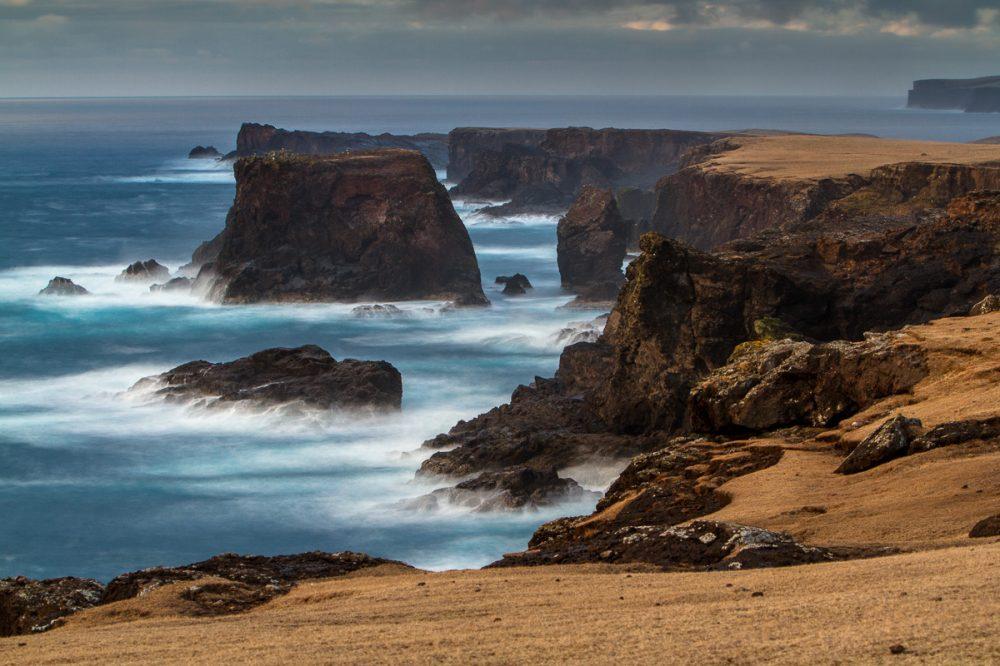 Klippen bei Eshaness, Shetland