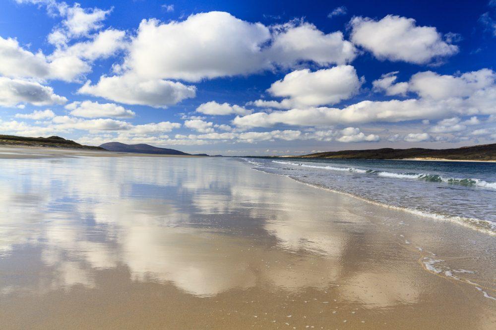 Luskentyre Beach, Isle of Harris, Schottland