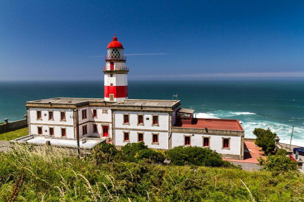 Cabo Silleiro, Galicia, Spanien