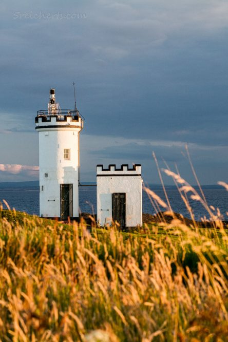 Eli Lighthouse, Fife, Schottland