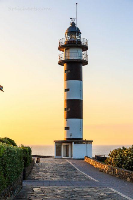 Faro de San Agustin, Galizien, Spanien