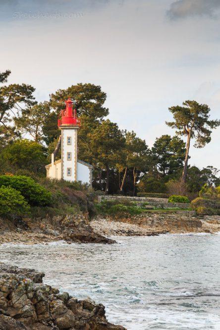 Leuchtturm an der Mündung der Odet, Sainte-Marine