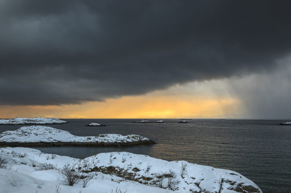 Vestfjord Lofoten, Norwegen