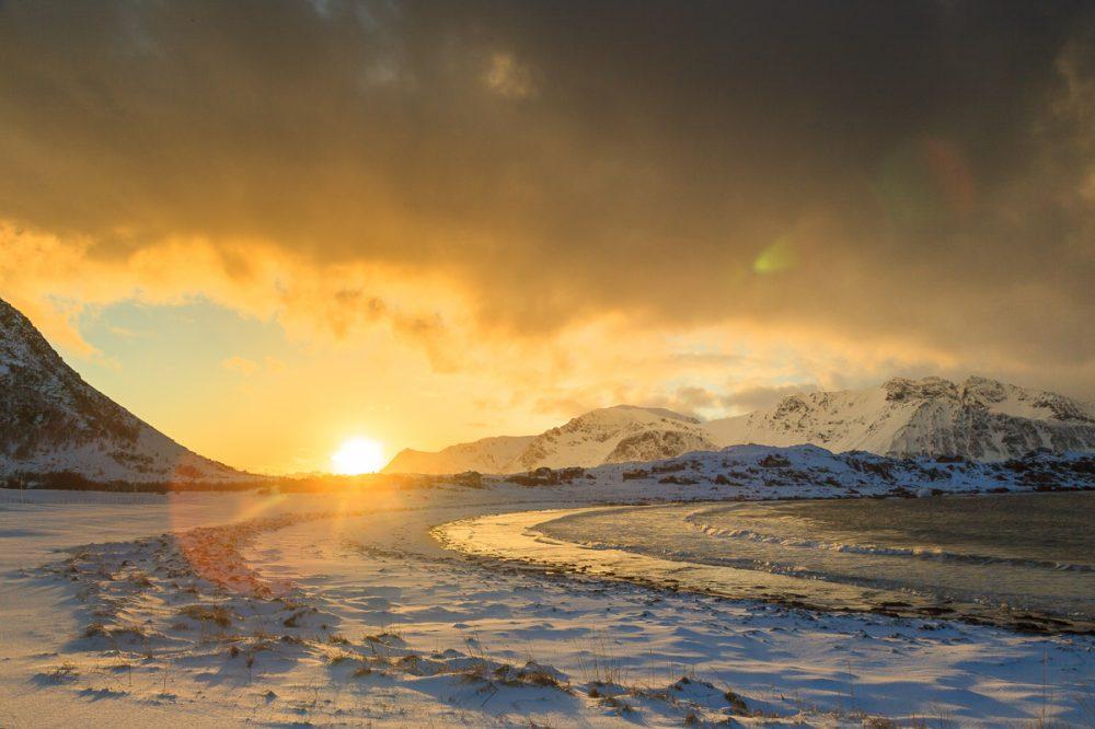 Hov, Lofoten, Norwegen