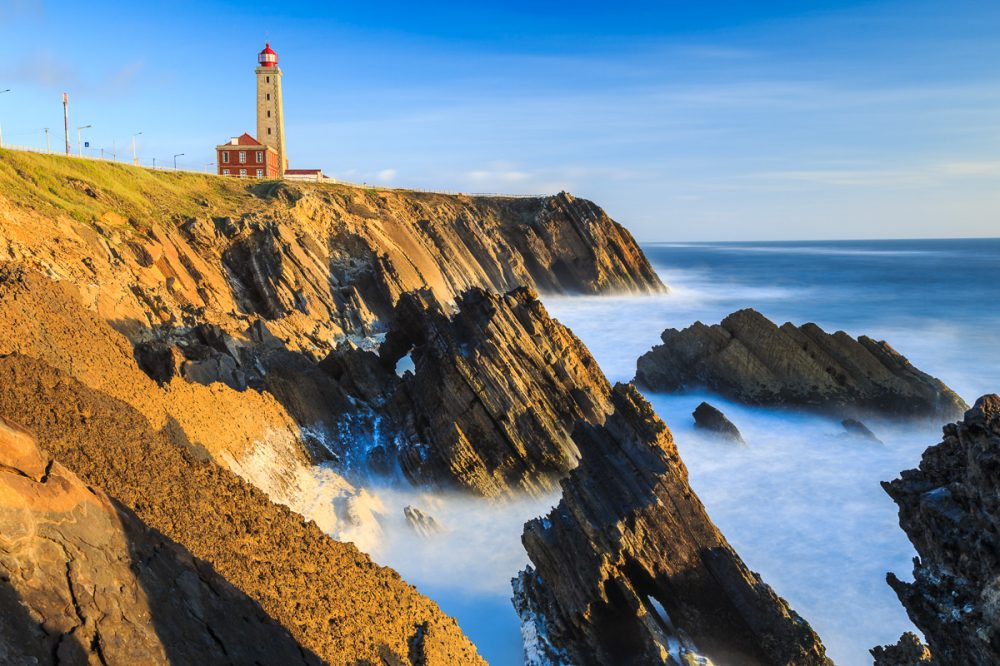 Farol do Penedo da Saudate, Portugal