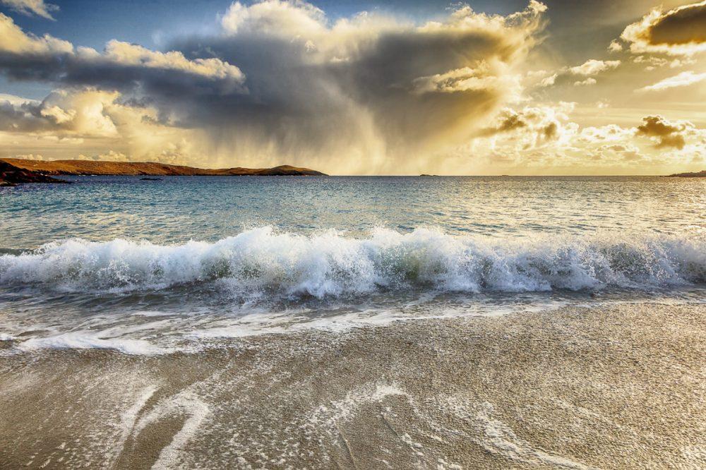 Meal Beach, Insel Burra, Shetland