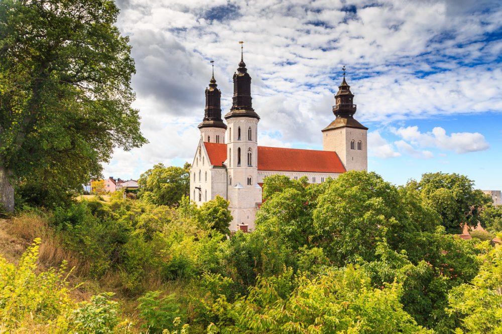 Der Dom zu Visby, Gotland, Schweden