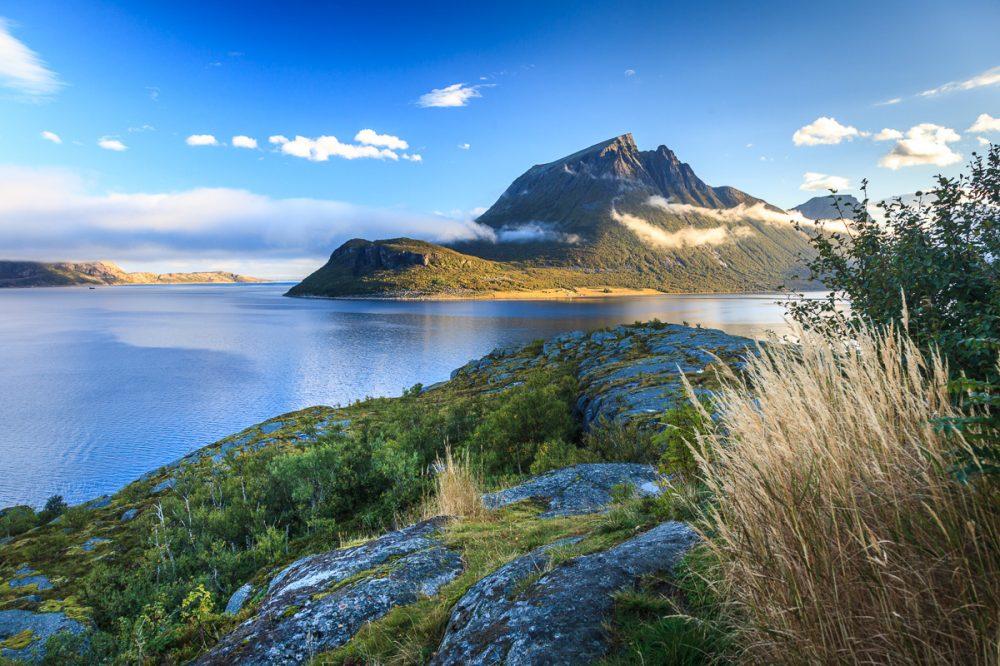 Fjord in der Nähe von Bronnøysund