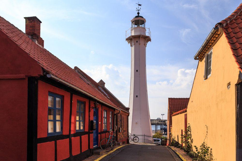 Roenne Bagfyr, Bornholm, Dänemark