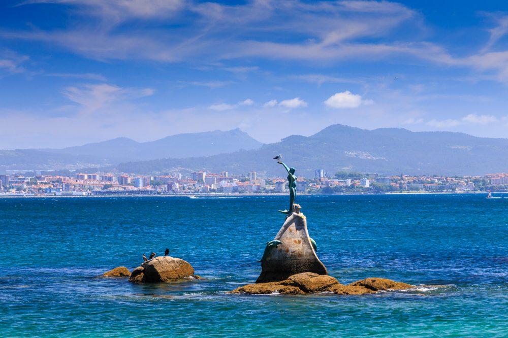 Cangas, Galicien, Spanien