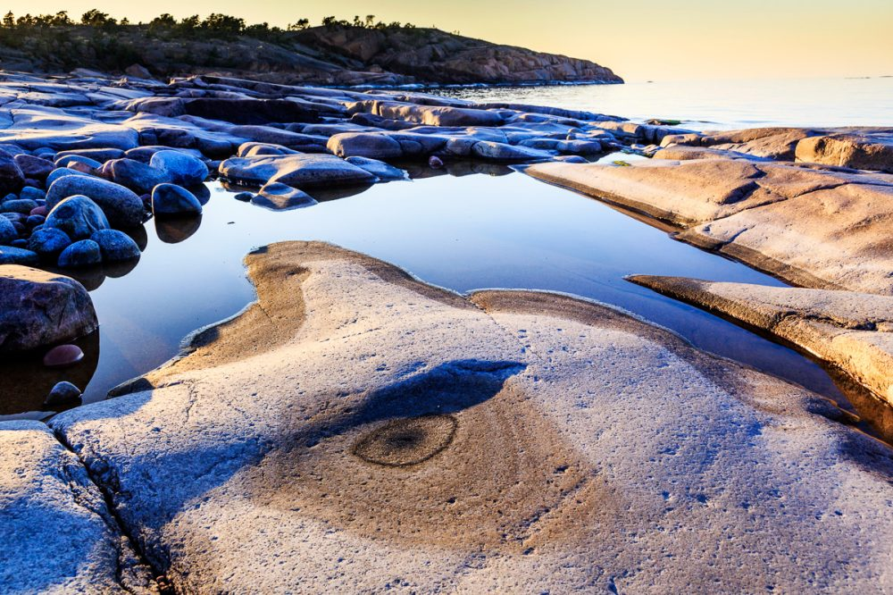 Küste bei Geta, Åland, Finnland