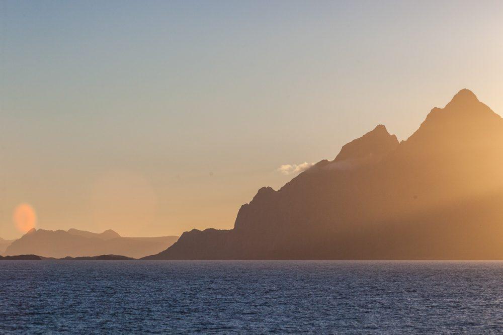 Lofoten Berge, Norwegen