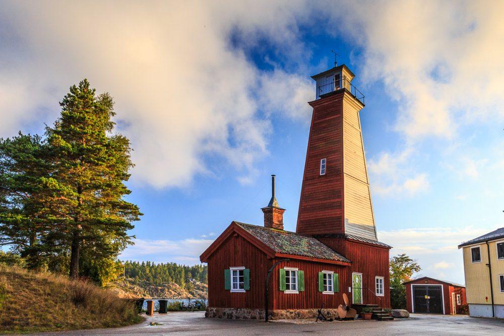 Bönan Leuchtturm, Schweden