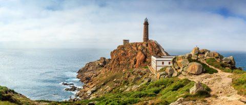 Cabo Villano, Galicien, Spanien