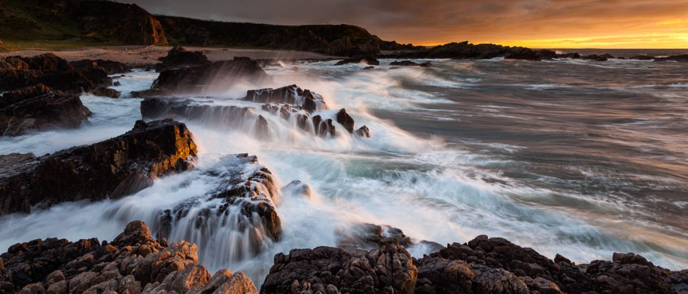 Küste bei Findochty, Schottland