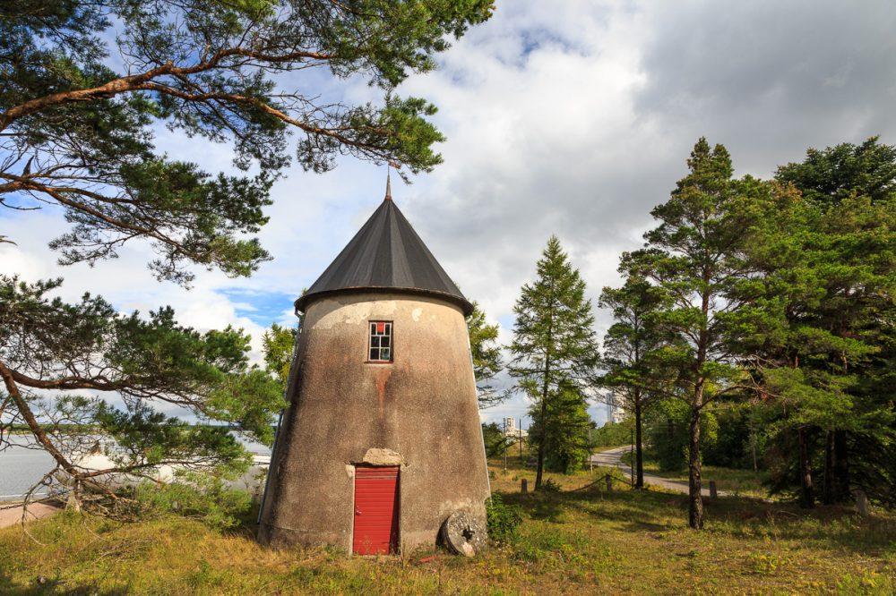 alte Mühle, Gotland, Schweden