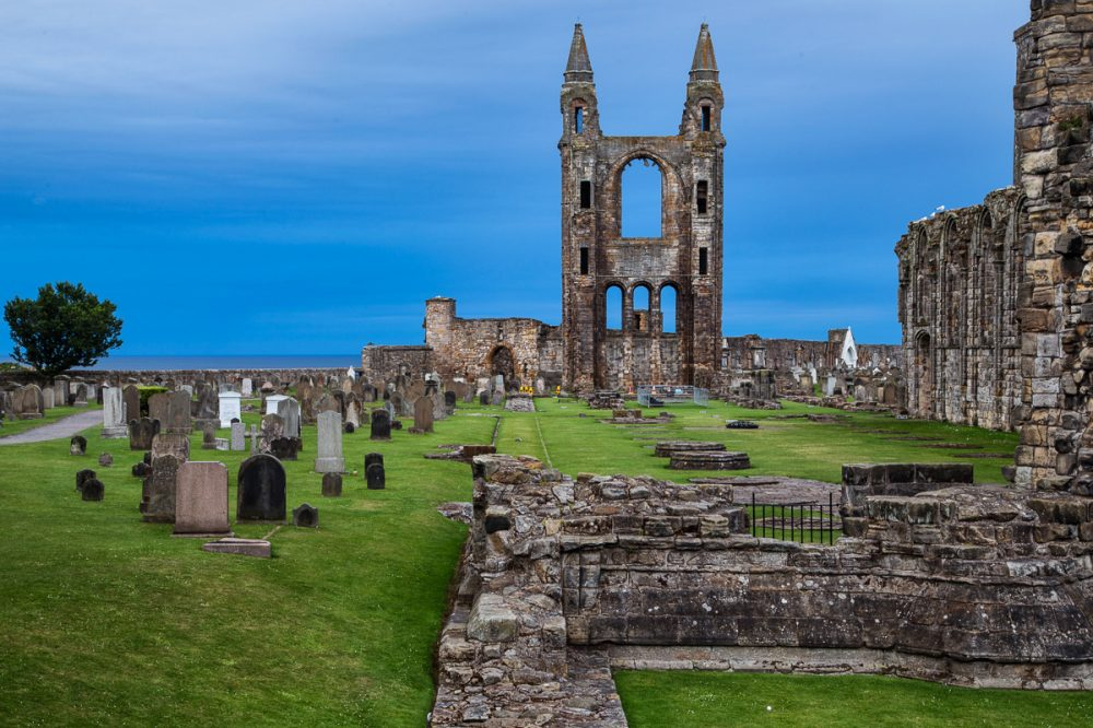 Cathedral, St Andrews, Fife, Schottland