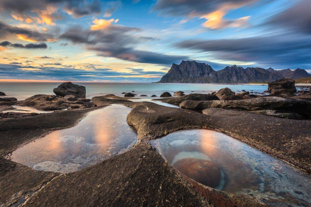Utalkeiv, Lofoten, Norwegen
