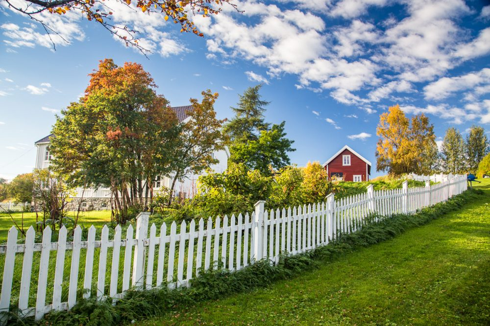 Harstad, Vesterålen, Norwegen
