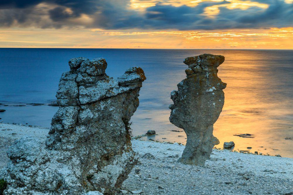 Langhammars, Fårö, Gotland, Schweden