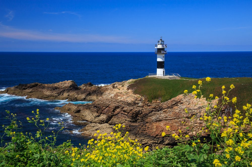 Isla Pancha, Galicien, Spanien