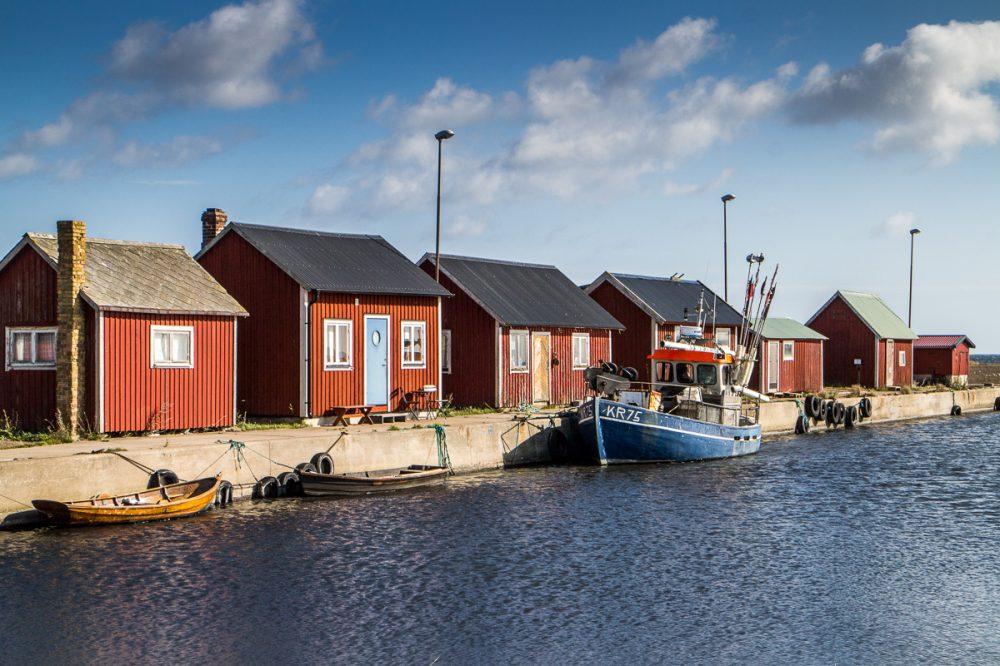 Hafen, Öland, Schweden