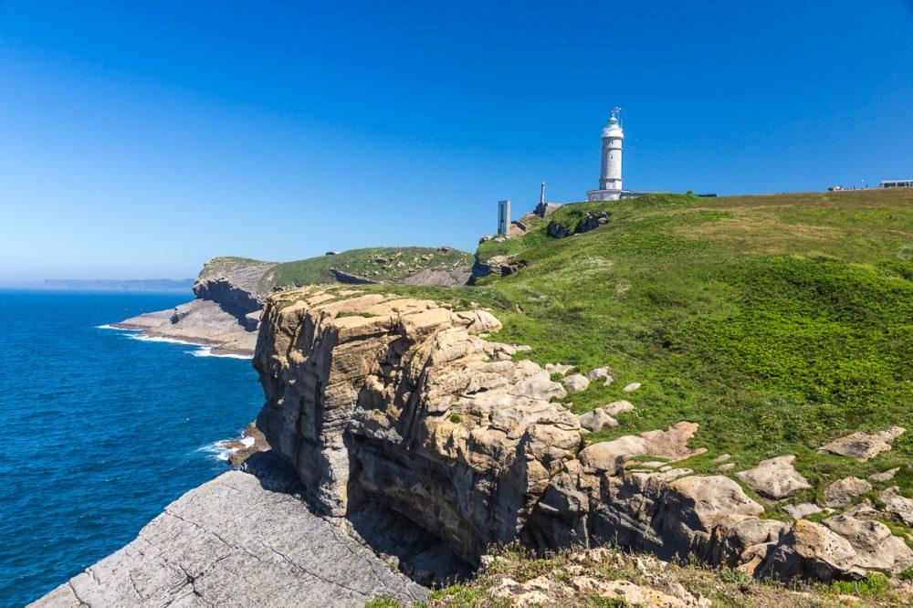 Faro de Cabo Mayor, Santander, Spanien