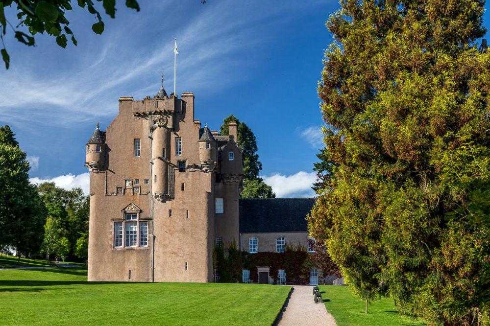 Crathes Castle. Aberdeenshire, Schottland