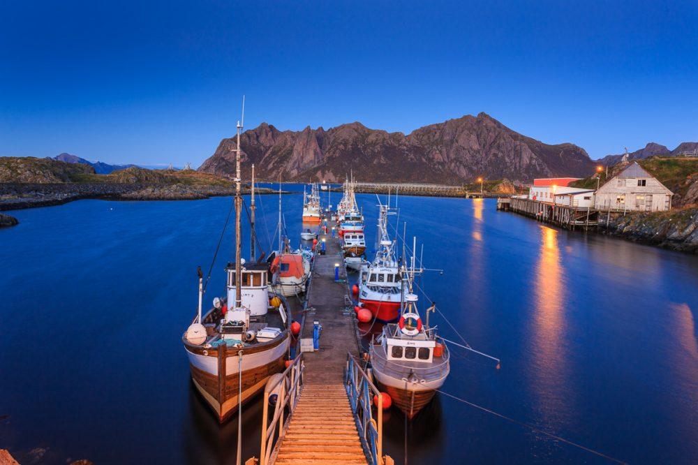 Hafen, Bo, Vesterålen, Norwegen
