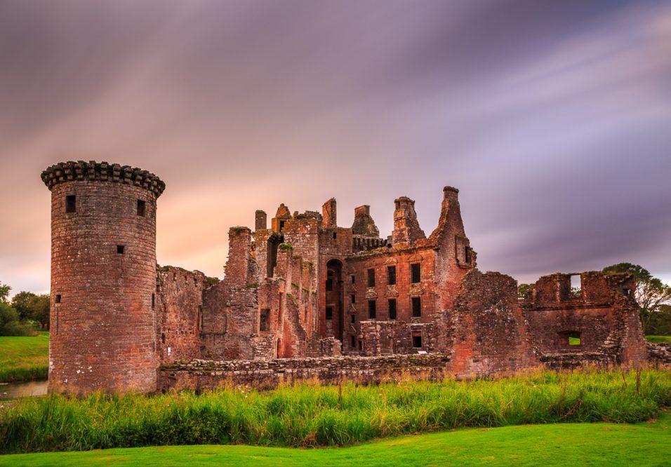 Caerlaverrock Castle, Dumfries, Schottland