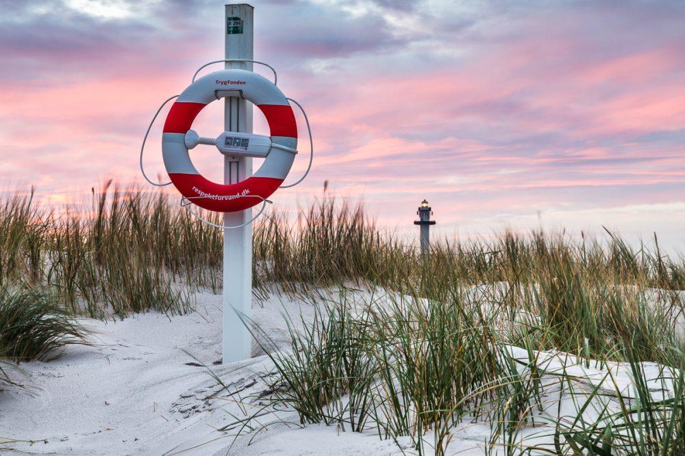 Leuchtturm Dueodde, Bornholm, Dänemark