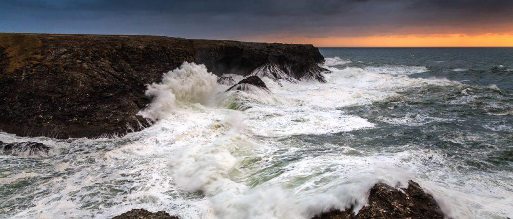 Küste und Wellen, Belle Ile, Bretagne